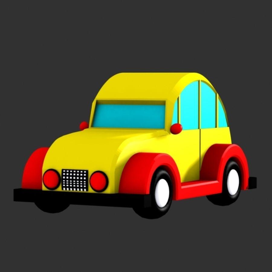 Carro de brinquedo_03 royalty-free 3d model - Preview no. 2