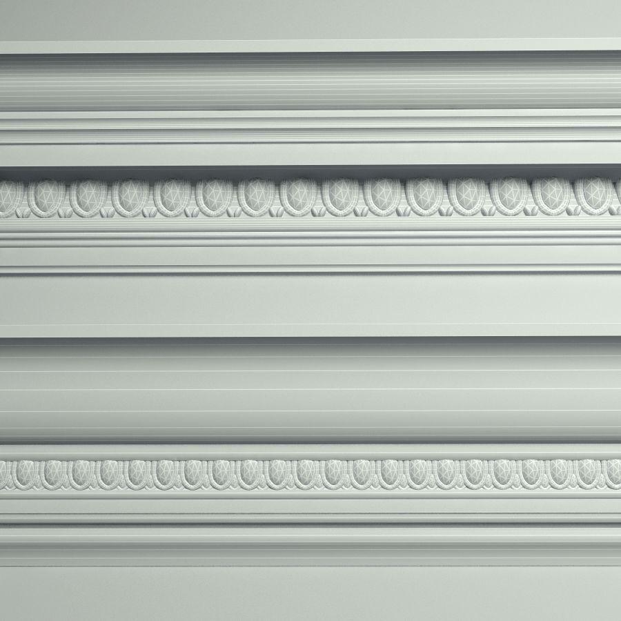 Peterhof  Cornice Molding k22 k39 royalty-free 3d model - Preview no. 4
