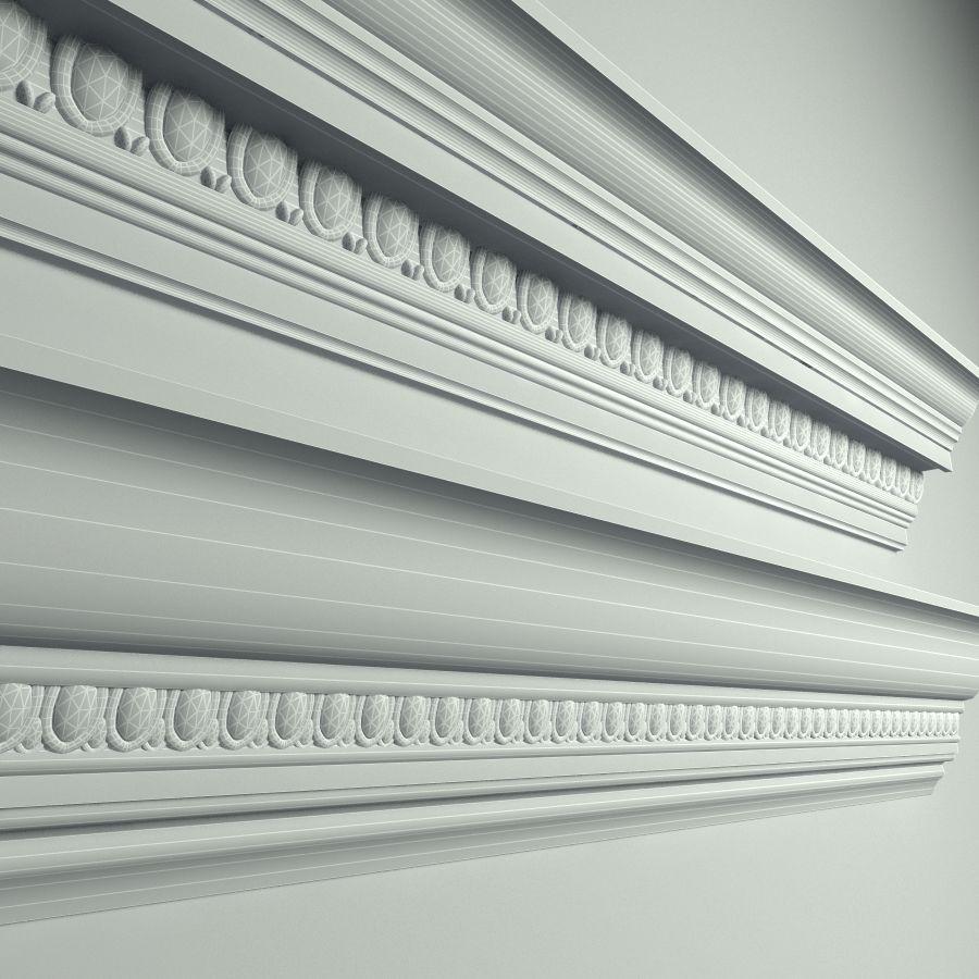 Peterhof  Cornice Molding k22 k39 royalty-free 3d model - Preview no. 5