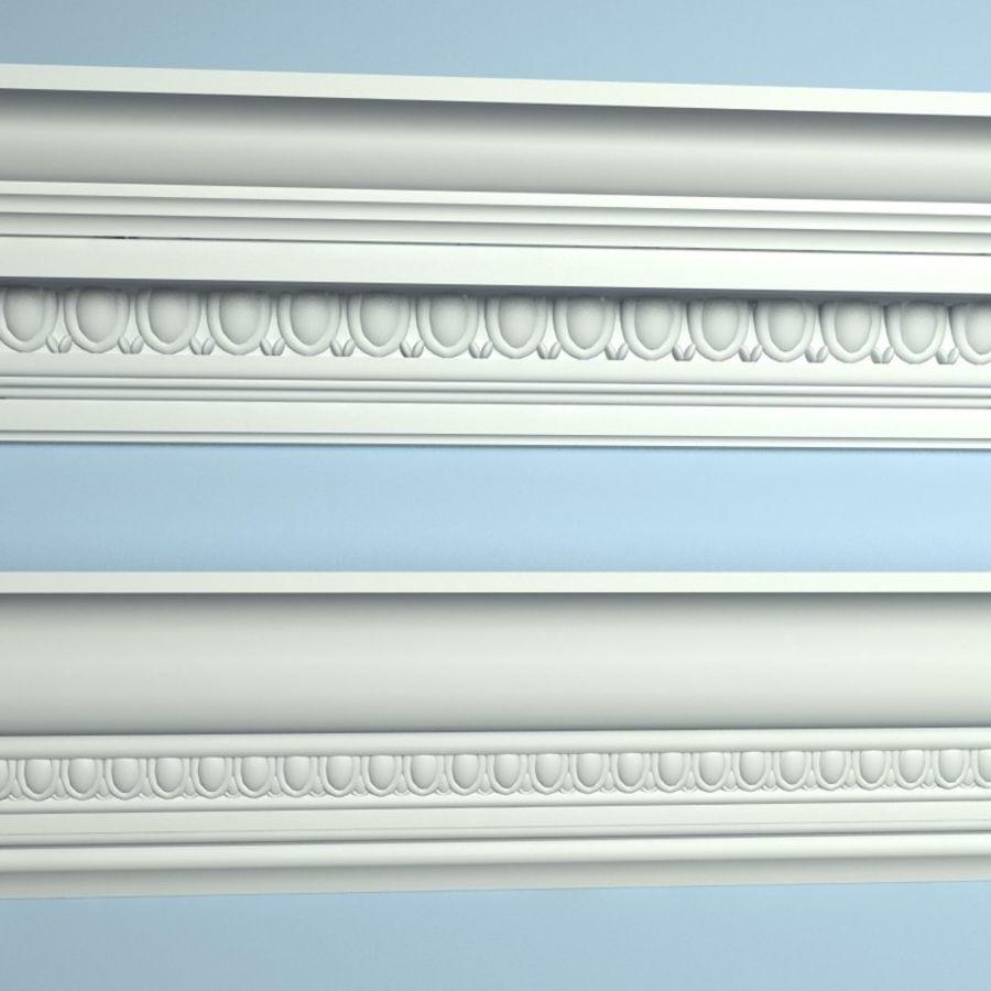 Peterhof  Cornice Molding k22 k39 royalty-free 3d model - Preview no. 1
