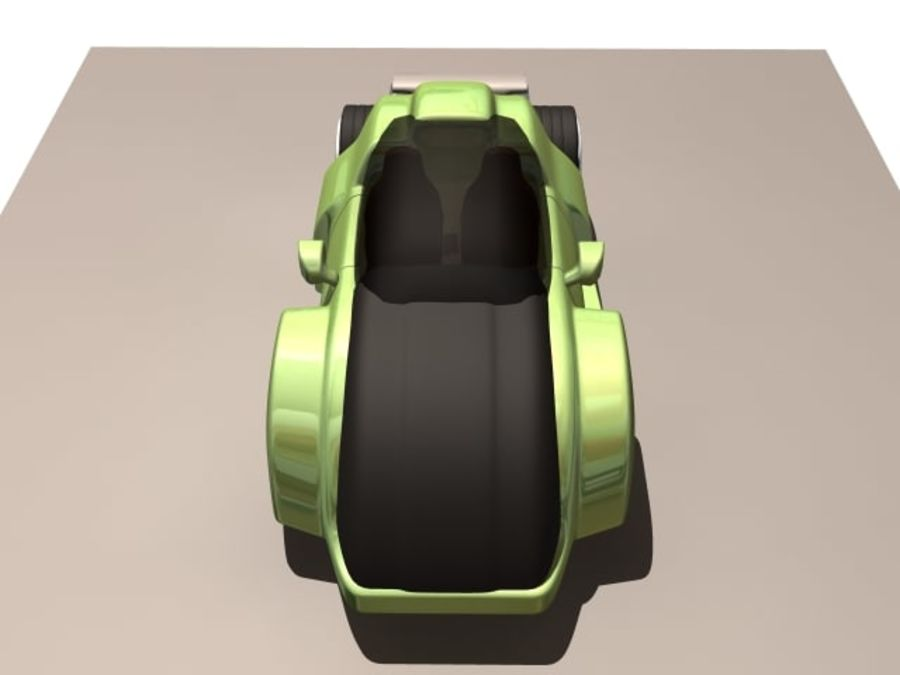 Concept car royalty-free 3d model - Preview no. 6