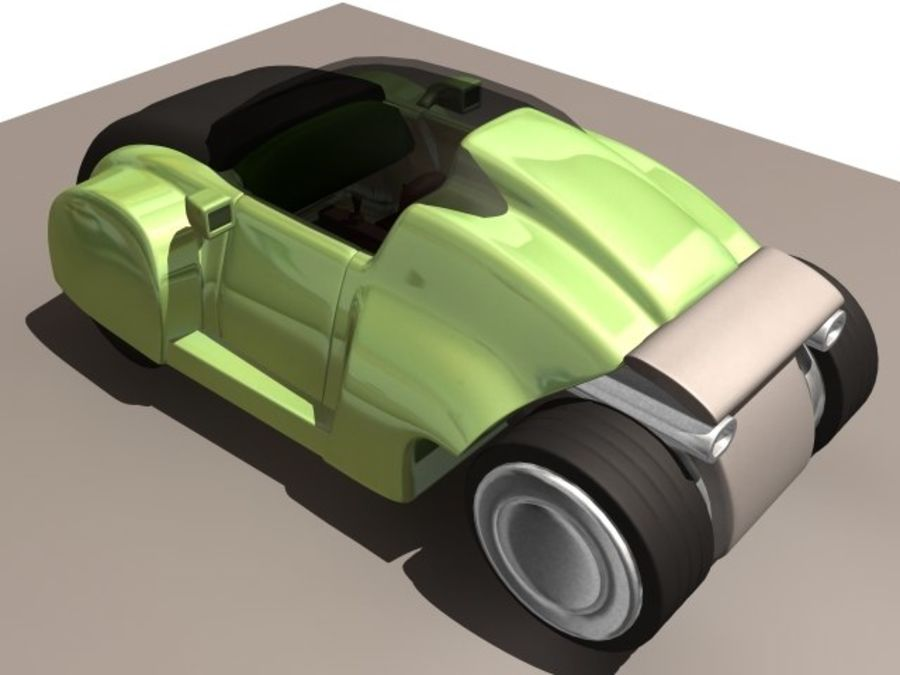 Concept car royalty-free 3d model - Preview no. 2