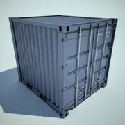 cargo container small 3d model