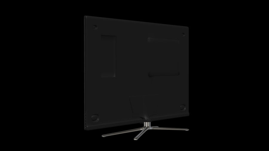 Samsung Smart TV royalty-free 3d model - Preview no. 9