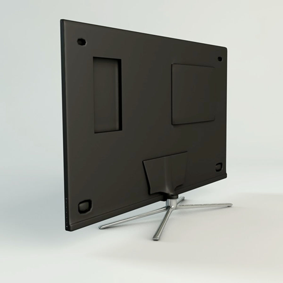 Samsung Smart TV royalty-free 3d model - Preview no. 4