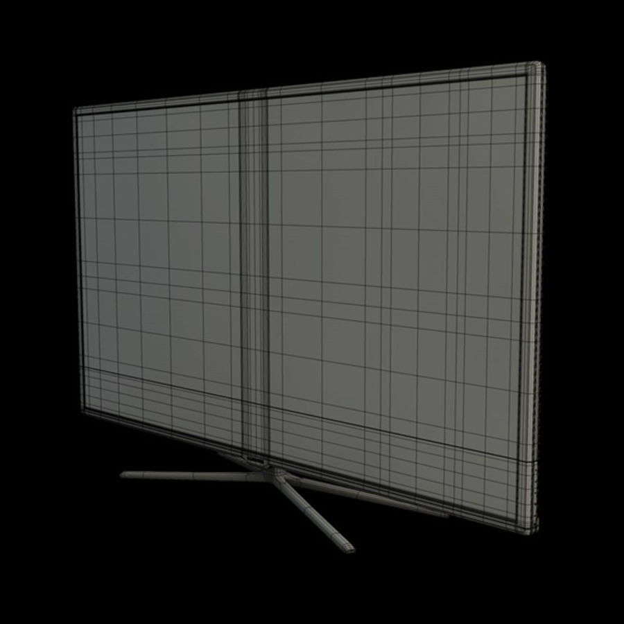 Samsung Smart TV royalty-free 3d model - Preview no. 6