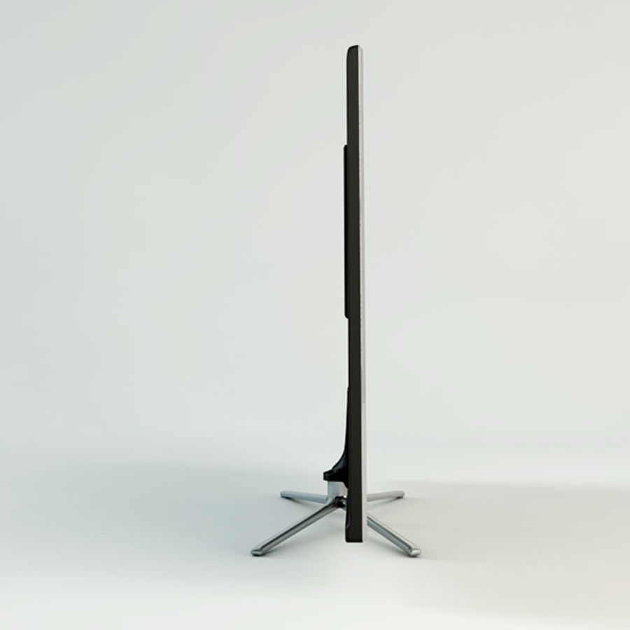 Samsung Smart TV royalty-free 3d model - Preview no. 5