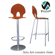 Aria Art Counter 3d model