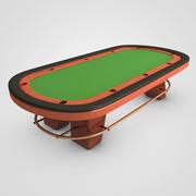扑克桌 3d model