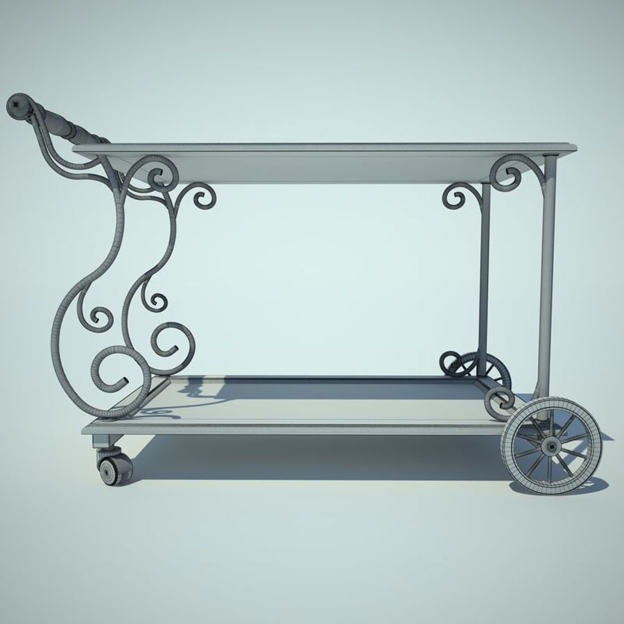 Panier alimentaire royalty-free 3d model - Preview no. 4