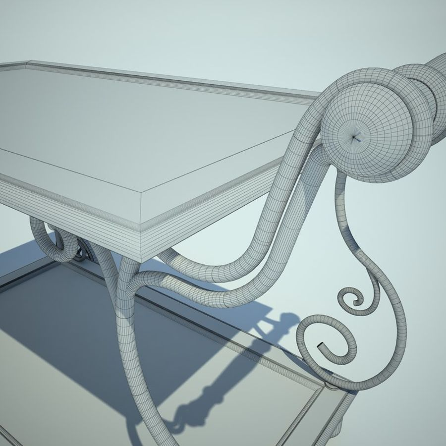 Panier alimentaire royalty-free 3d model - Preview no. 12