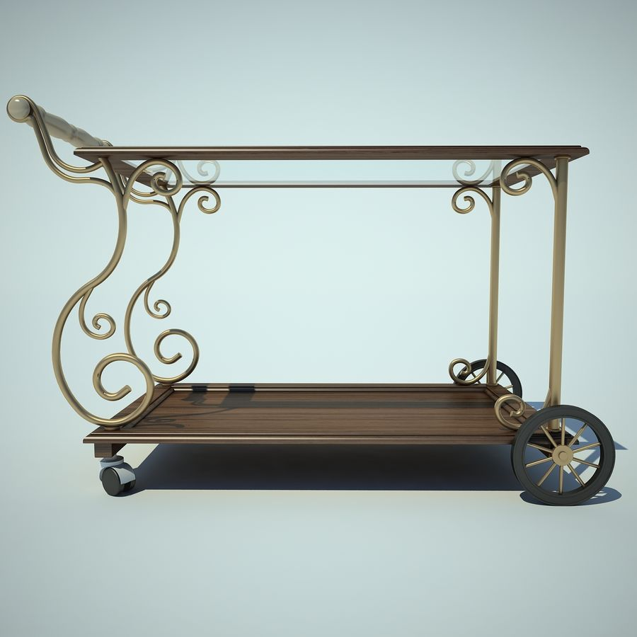 Panier alimentaire royalty-free 3d model - Preview no. 3