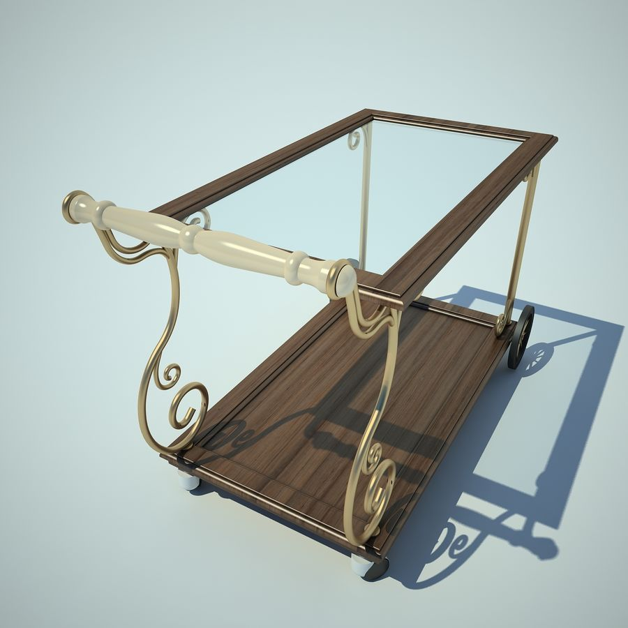 Panier alimentaire royalty-free 3d model - Preview no. 7