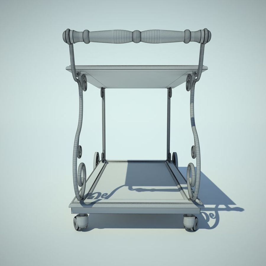 Panier alimentaire royalty-free 3d model - Preview no. 6