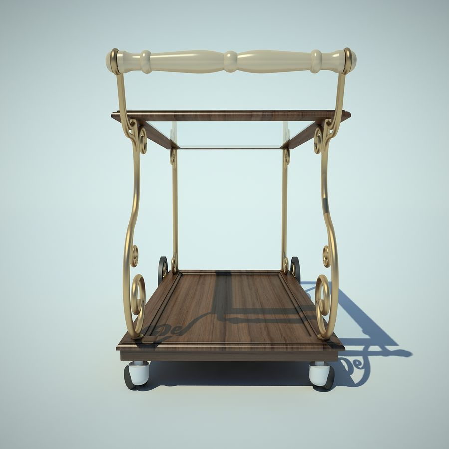 Panier alimentaire royalty-free 3d model - Preview no. 5
