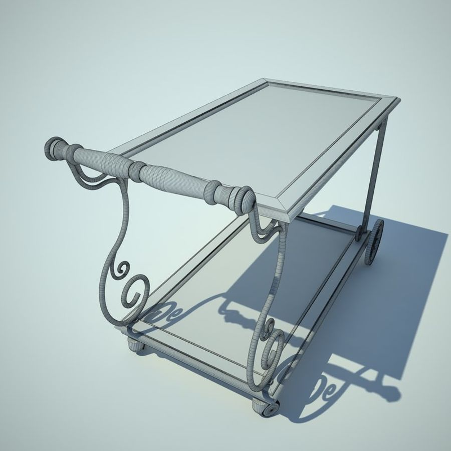 Panier alimentaire royalty-free 3d model - Preview no. 8