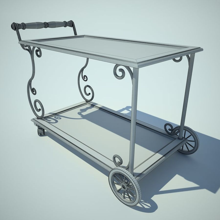 Panier alimentaire royalty-free 3d model - Preview no. 2
