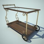 Cart Food 3d model