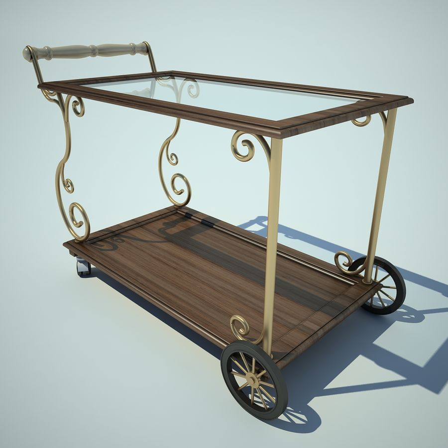 Panier alimentaire royalty-free 3d model - Preview no. 1