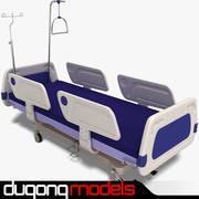 병원 침대 01 3d model