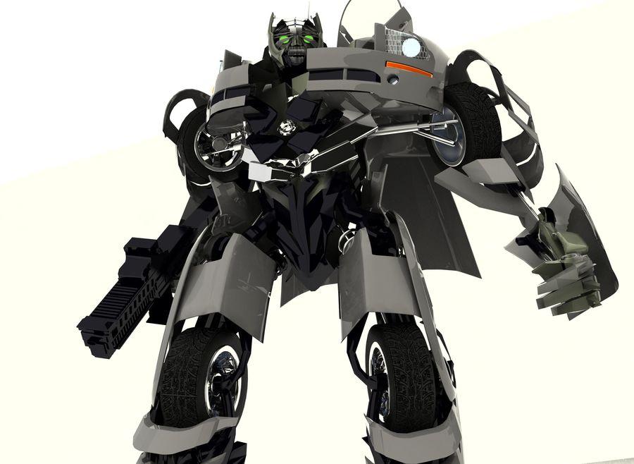 Robô royalty-free 3d model - Preview no. 5