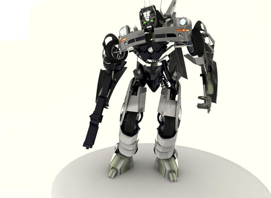 Robô royalty-free 3d model - Preview no. 4