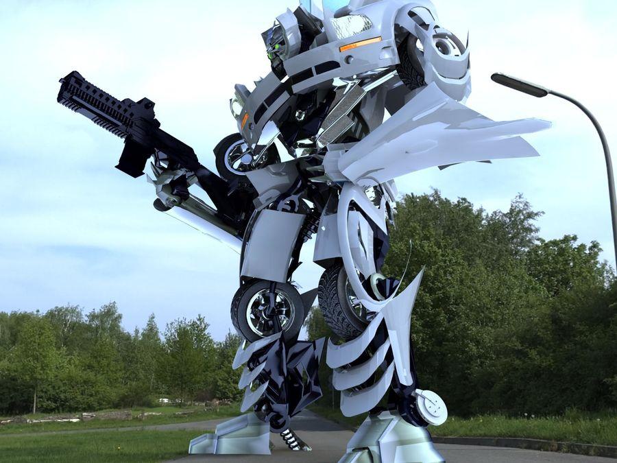 Robô royalty-free 3d model - Preview no. 3
