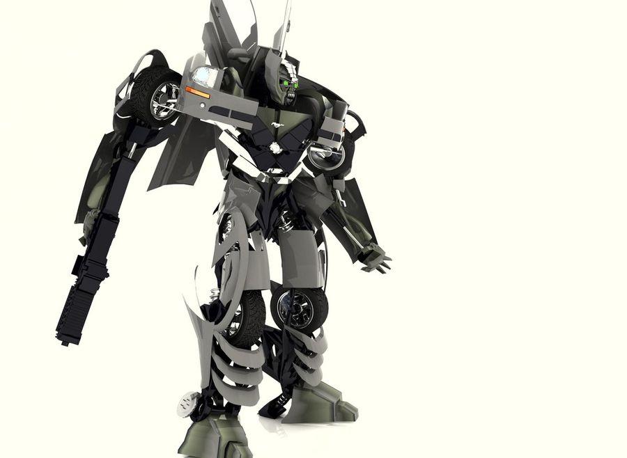 Robô royalty-free 3d model - Preview no. 6