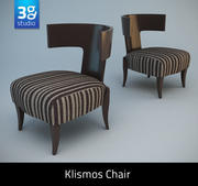 Klismos Chair 3d model