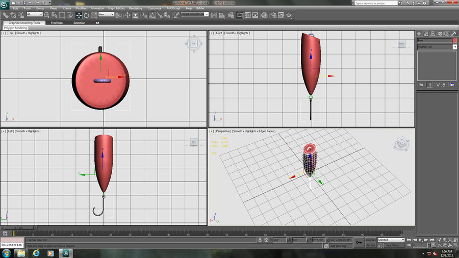 Fishing Lure royalty-free 3d model - Preview no. 15