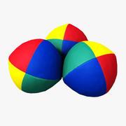 Juggling Balls 3d model