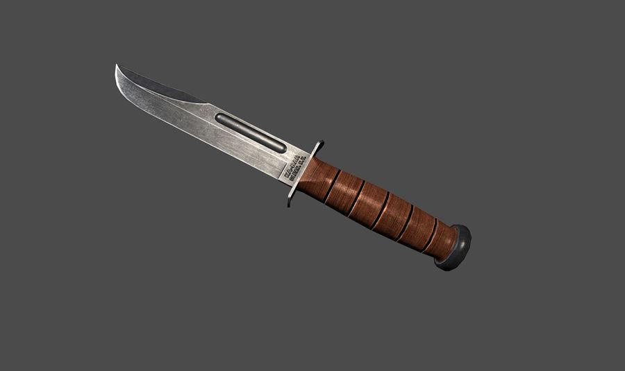 KA-BAR Knife 3D Model $10 -  unknown  ma  max  c4d  obj  3ds