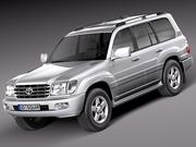 Toyota Land Cruiser J100 1997-2007 3d model