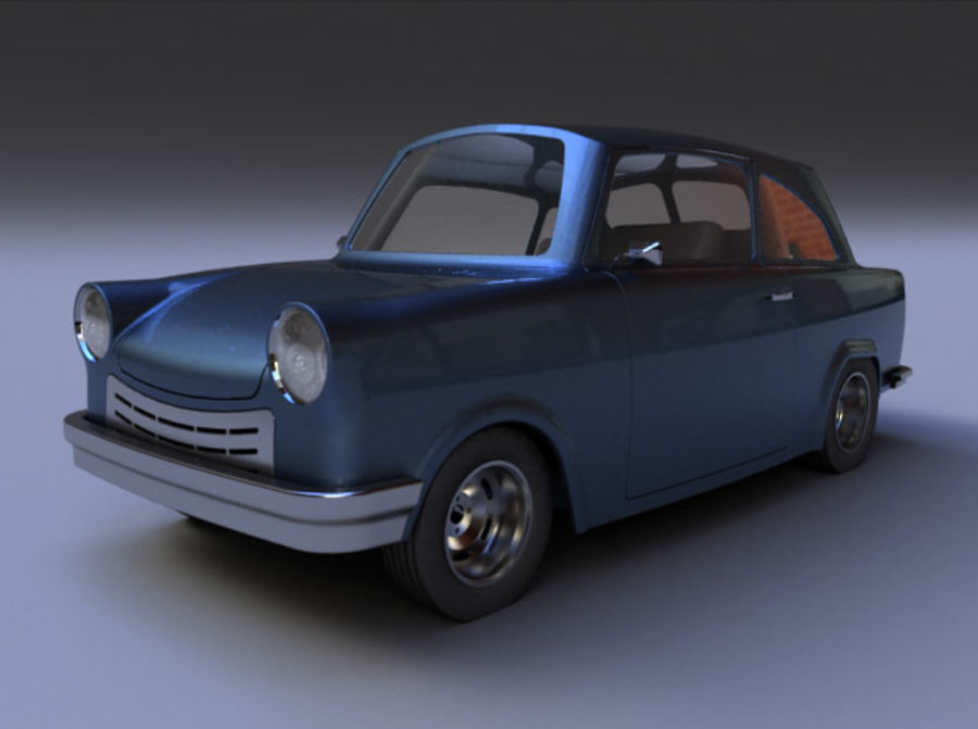 Car DDR royalty-free 3d model - Preview no. 1