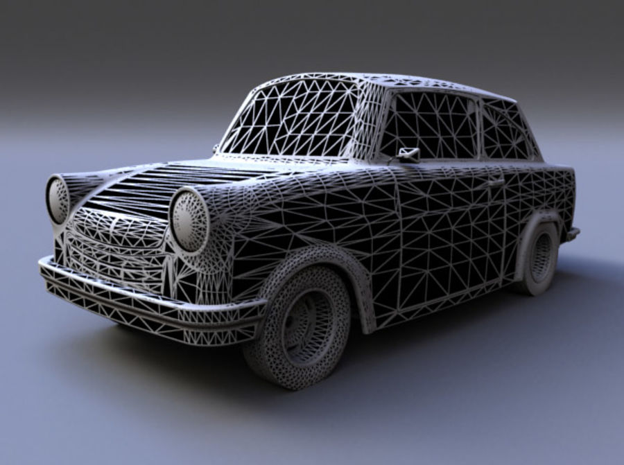 Car DDR royalty-free 3d model - Preview no. 6