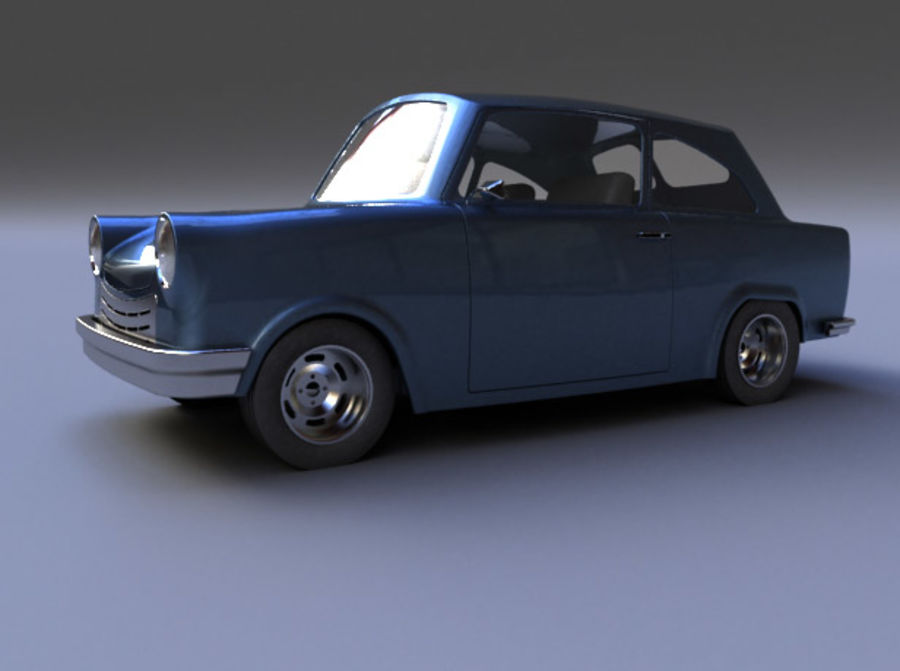 Car DDR royalty-free 3d model - Preview no. 4