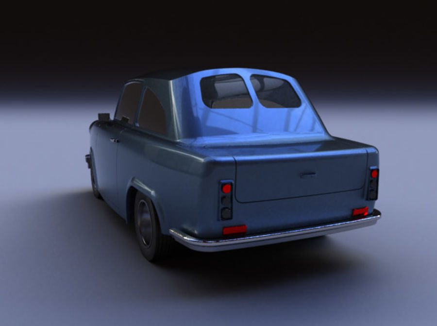 Car DDR royalty-free 3d model - Preview no. 3