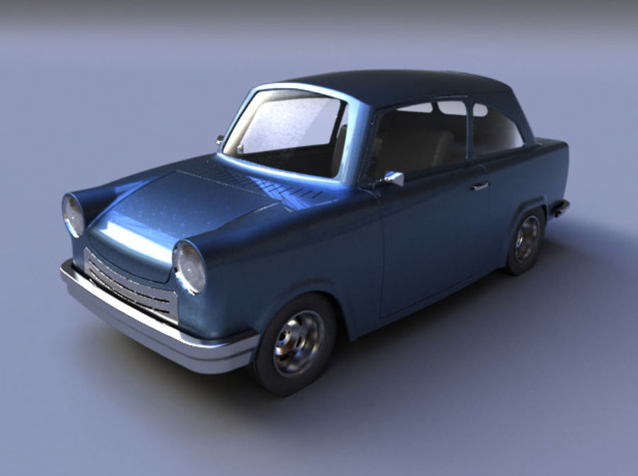 Car DDR royalty-free 3d model - Preview no. 5