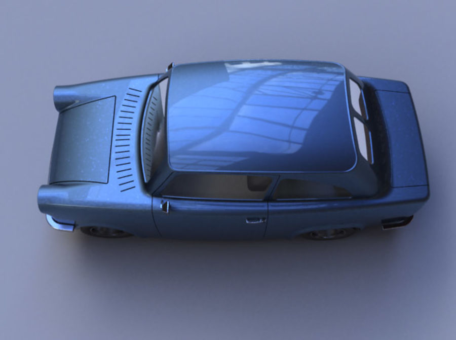 Car DDR royalty-free 3d model - Preview no. 2