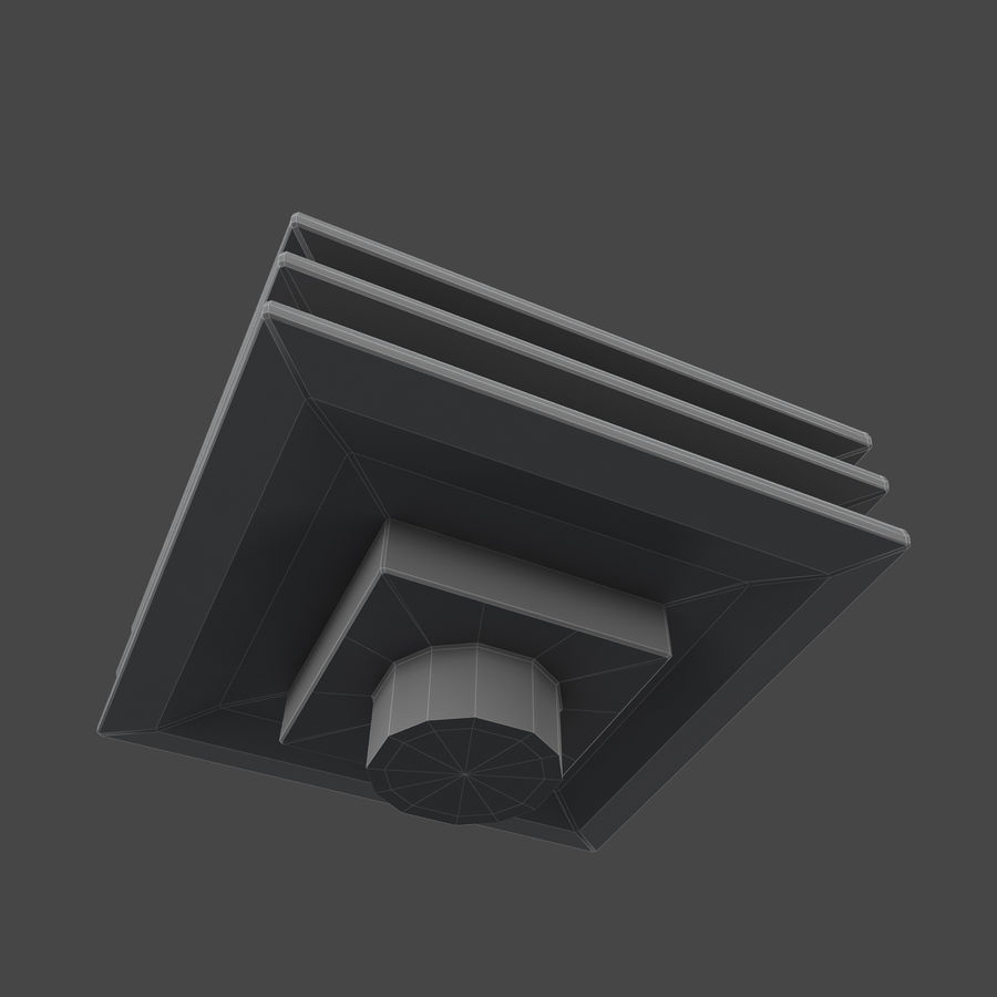 Roof Vents Bundle royalty-free 3d model - Preview no. 11