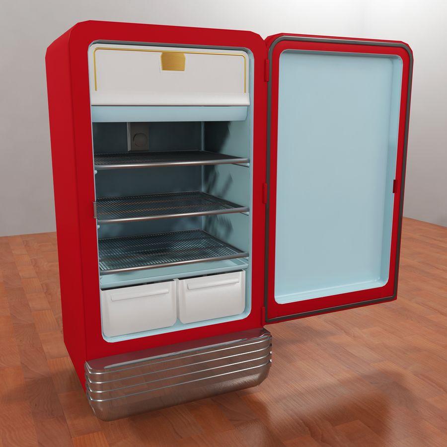 Coca-Cola Refrigerator royalty-free 3d model - Preview no. 4