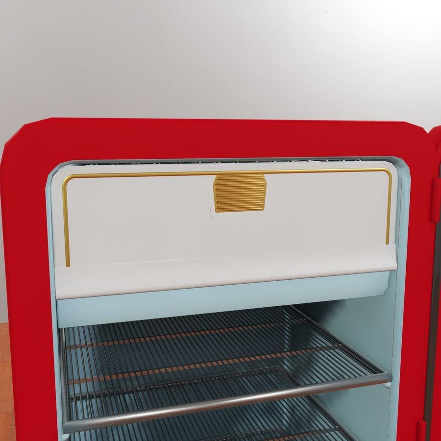Coca-Cola Refrigerator royalty-free 3d model - Preview no. 5