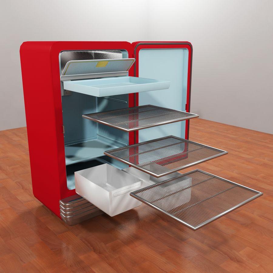 Coca-Cola Refrigerator royalty-free 3d model - Preview no. 8