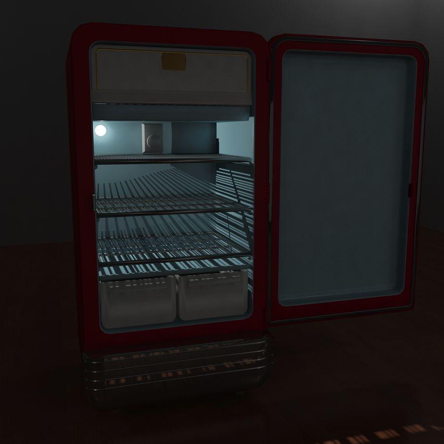 Coca-Cola Refrigerator royalty-free 3d model - Preview no. 10