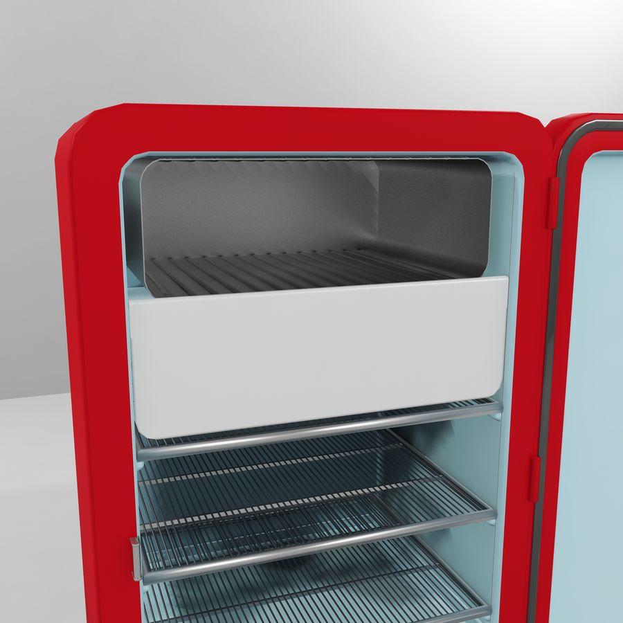 Coca-Cola Refrigerator royalty-free 3d model - Preview no. 9