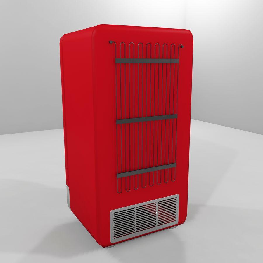 Coca-Cola Refrigerator royalty-free 3d model - Preview no. 3