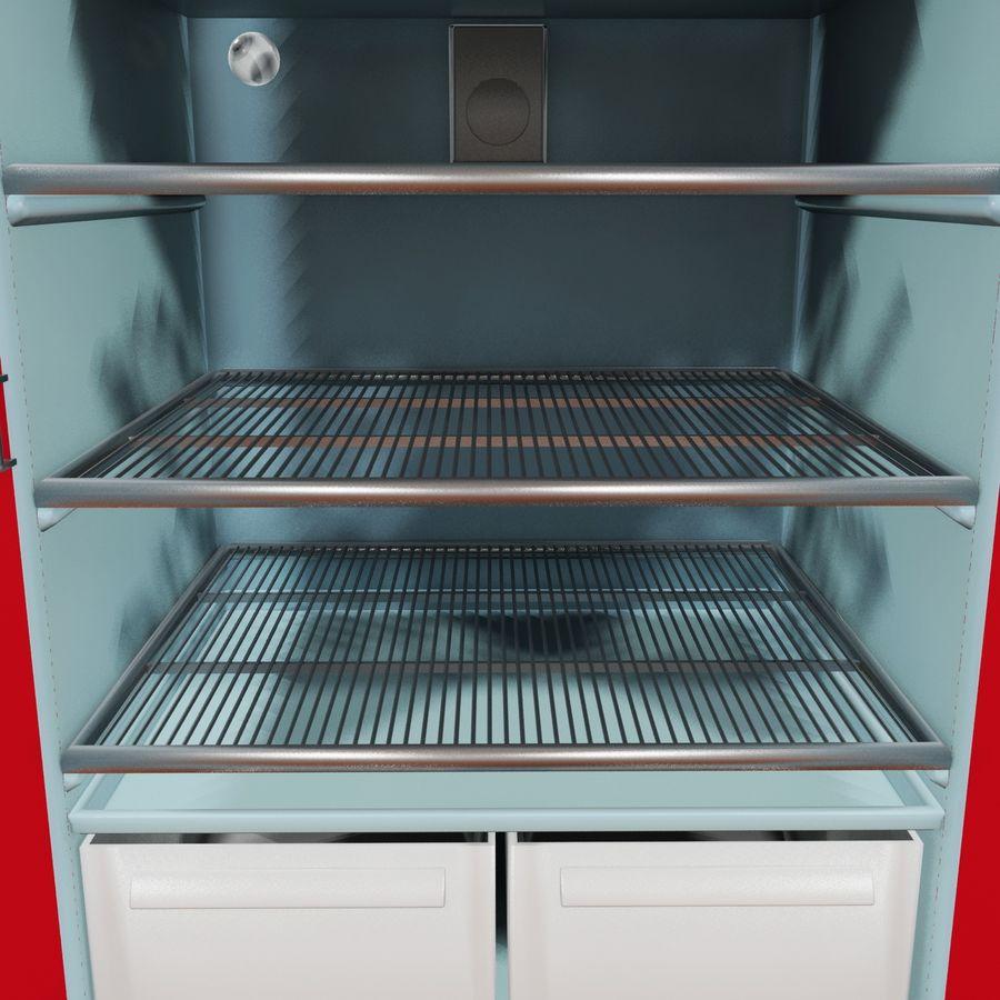 Coca-Cola Refrigerator royalty-free 3d model - Preview no. 6