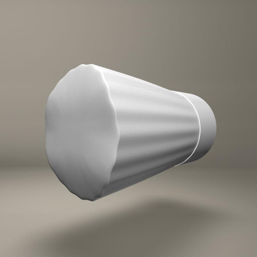 Шляпа шеф-повара royalty-free 3d model - Preview no. 3
