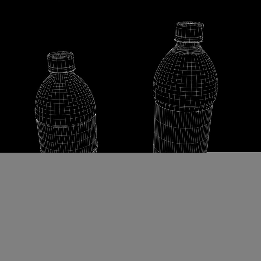 Plastic Pop Bottles royalty-free 3d model - Preview no. 8