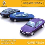 Renault Megane 3d model